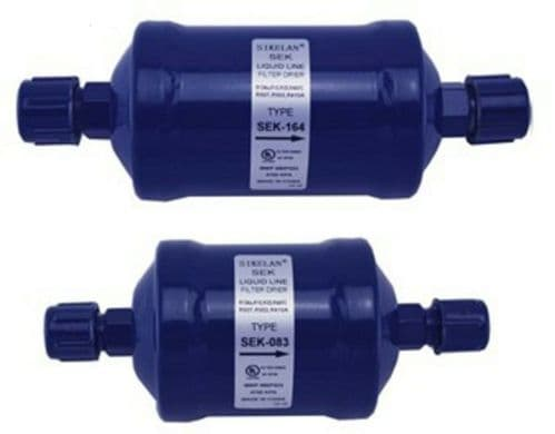 REFRIGERATION PRODUCTS LIQUID LINE FILTER DRIER inlet 1/2 outlet 1/2